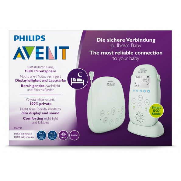 Philips Avent, PH Baby Monitor SCD721 Babyalarm