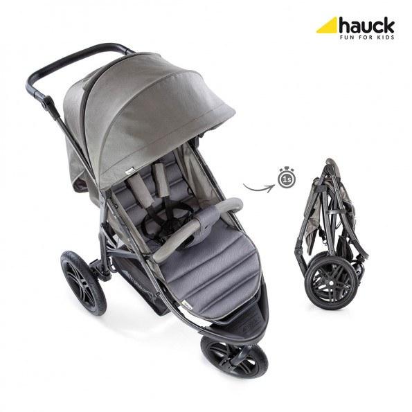 Hauck Rapid 3R klappvogn - Charcoal