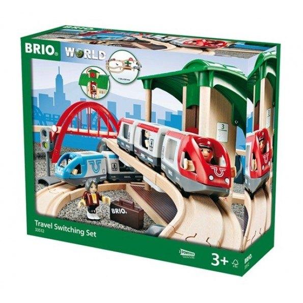 BRIO World - Togbane - På Tur - 33512