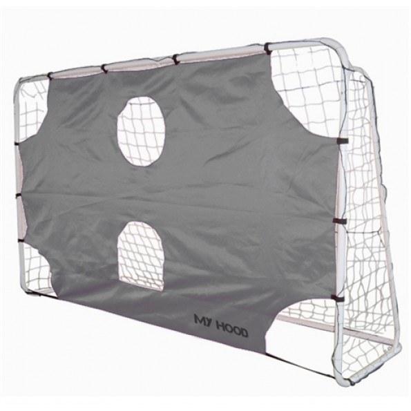 My Hood Fotballmål med presisjons duk - 300 x 180 cm
