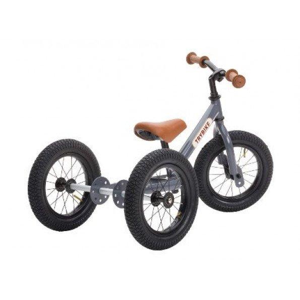 TRYBIKE 3 hjuls balansesykkel - Grå