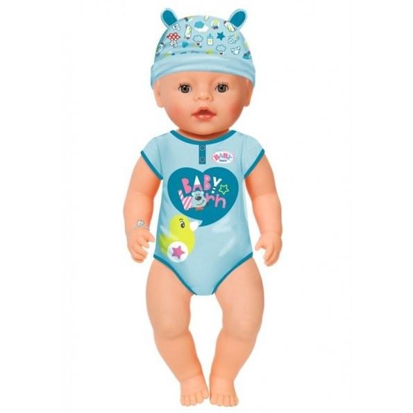 Baby Born Soft Touch dukkegutt - Brune øyner
