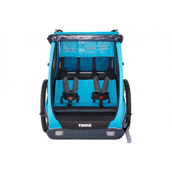 Thule Coaster XT Sykkelvogn inkl. Klappvognsett - Blå