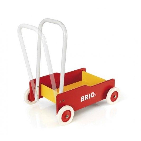 BRIO Gåvogn - Rød/Gul - 30519