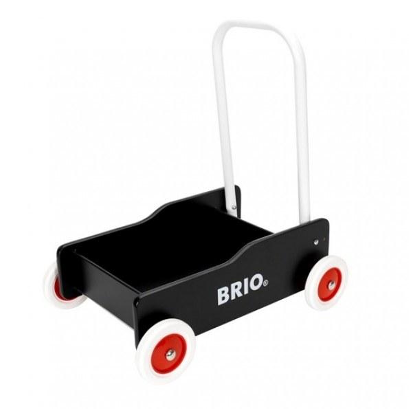BRIO Gåvogn - Svart - 31351