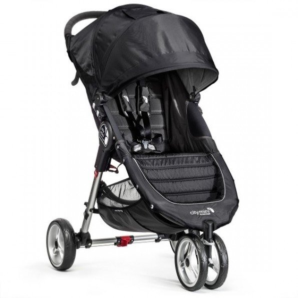 Baby Jogger City Mini Single - Svart/Grå
