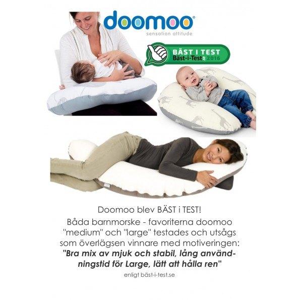 doomoo - Ammepute - Grå/Giraff