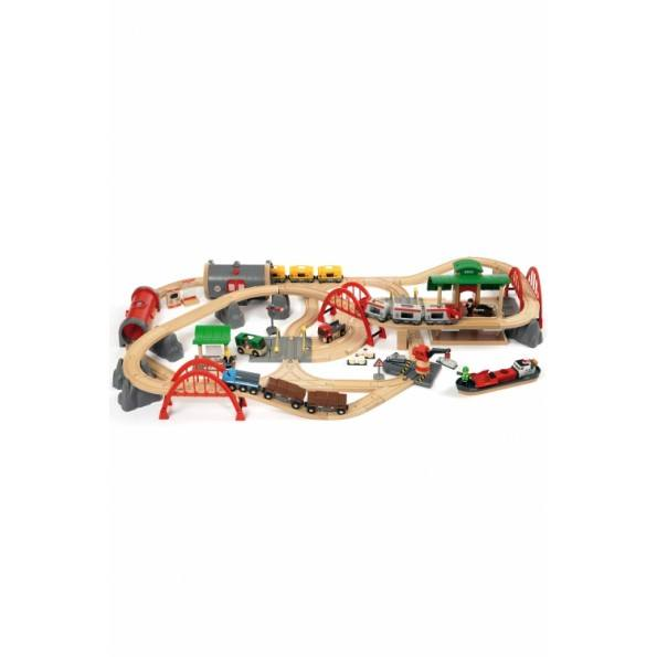 BRIO World - Deluxe Togsett - 33052