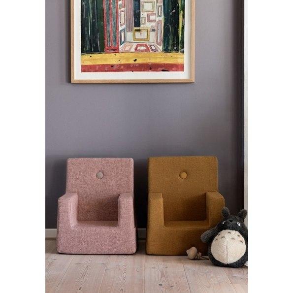 By KlipKlap Kids Chair XL - Mustard