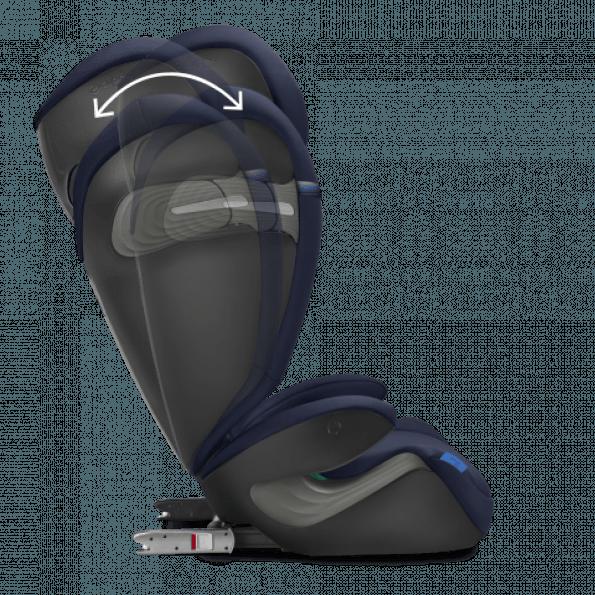 Cybex Solution S i-Fix bilstol - Deep Black