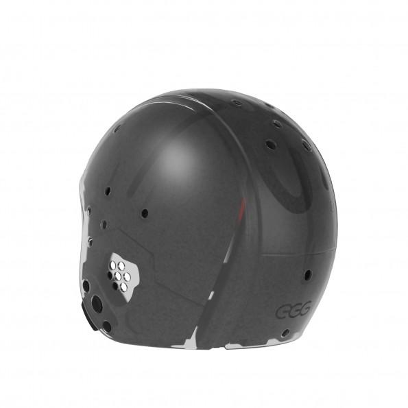 EGG Helmet, str. Small - Gjennomsiktig