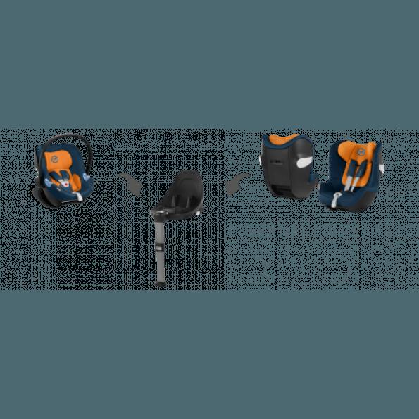 Cybex Sirona M2 i-Size bilstol (2019) inkl. Base M - Urban Black