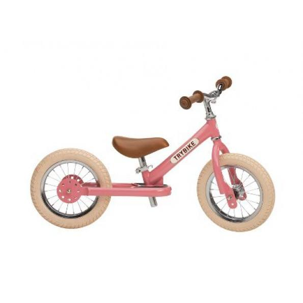 TRYBIKE 2 hjuls balansesykkel - Rosa