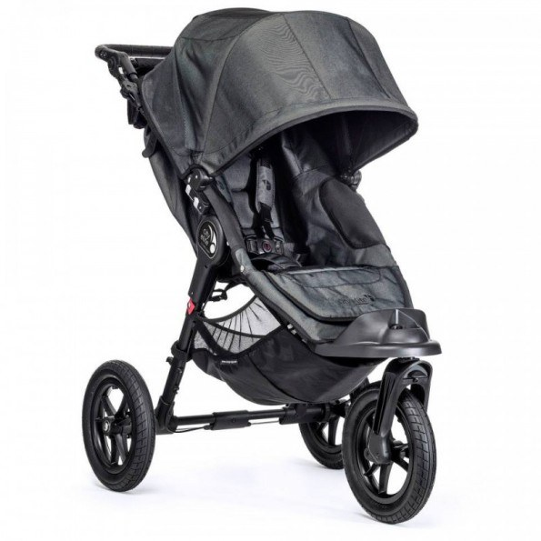 Baby Jogger City Elite Single - Charcoal Denim Klappvogn