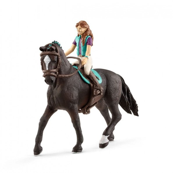 Schleich Horse Club Lisa og Storm - Svart