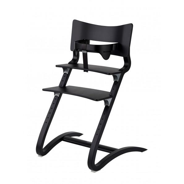 Leander tripp trapp stol inkl bøyle - Svart