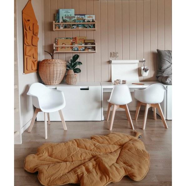Tiny Republic Deco barnestol med armlene 2 stk - Hvit