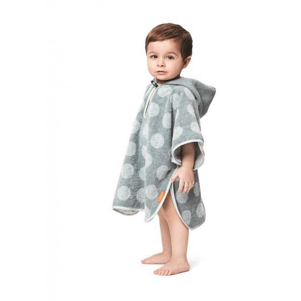 LEANDER Matty Poncho, 60x100, Mint/Green Badehåndkle