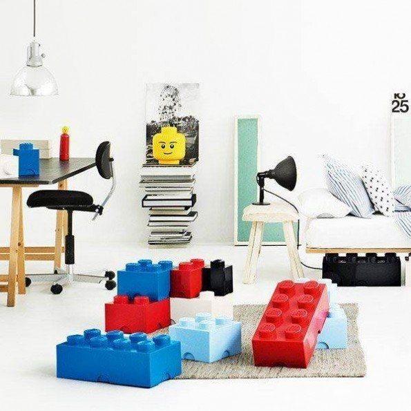 LEGO Oppbevaringsboks 4 - Blå