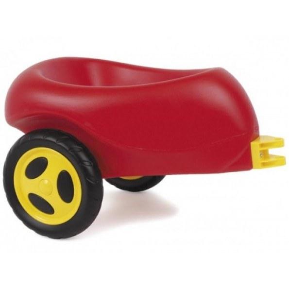 Dantoy Henger med plastikkhjul - Rød