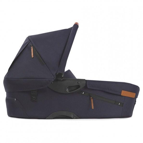 Mutsy EVO kombivognramme+ EVO babybag+ EVO sete - Svart/dyp marineblå