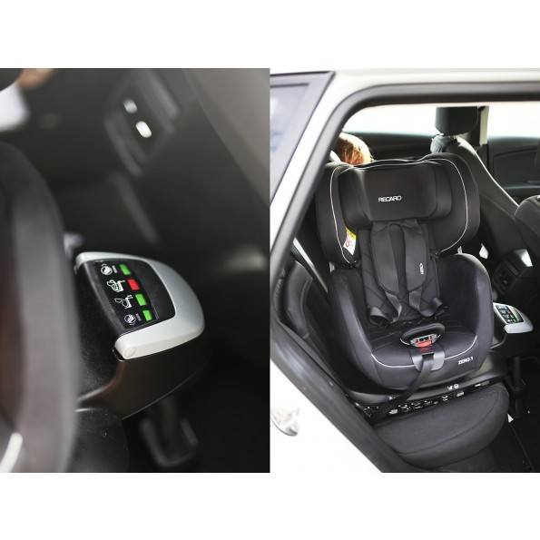 RECARO Zero 1 i-Size - Performance Black Bilstol
