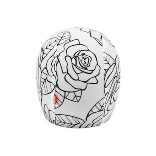 EGG Skin - Roses - Betrekk til Sykkelhjelm - Str. S
