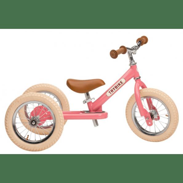 TRYBIKE 3 hjuls balansesykkel - Rosa