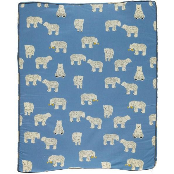 Småfolk Stellepute med isbjørnmotiv - Blå