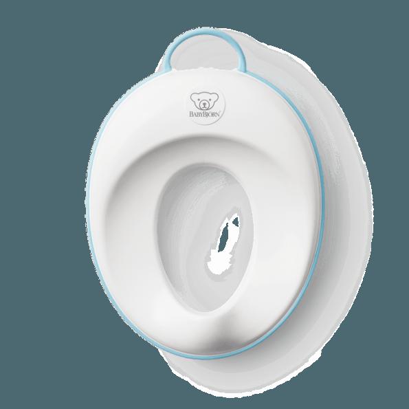 BABYBJÖRN Toalettsete - Hvit/Turkis