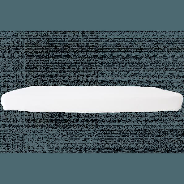 Heybasic 3D lux air strekklaken til barneseng 60x120cm - Hvit