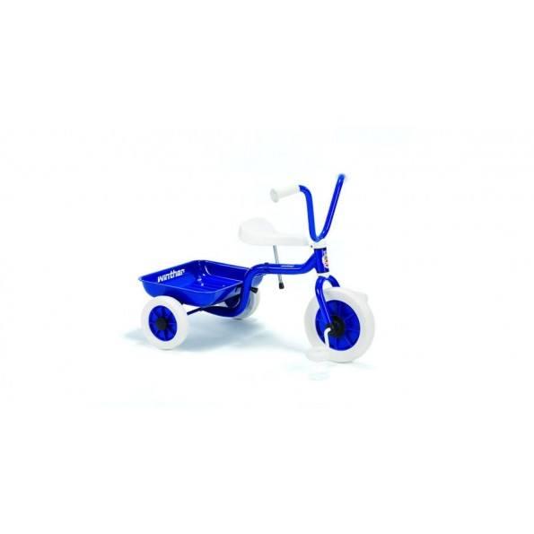 Winther Trehjult Sykkel m/ Lasteplan - Blå