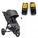 Neonate 5800 babyalarm + Baby Jogger City Elite Singel Kull-dongeri