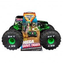 Monster Jam RC Mega Grave Digger - Grønn