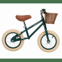 Banwood First Go Løpesykkel - Mørk Grønn