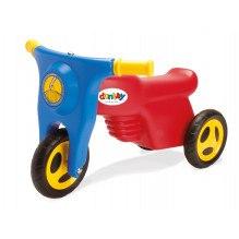 Dantoy Motorsykkel med plastikkhjul - Rød