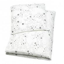 Tiny Republic babysengetøy 70x100, Snow Flake - Hvit