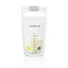 MEDELA Oppbevaringspose for morsmelk, 25 stk
