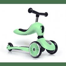 SCOOT AND RIDE Highwaykick 1 scooter / løpesykkel - kiwi