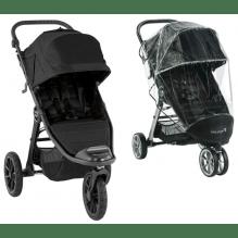 Baby Jogger City Elite 2 jet + regntrekk trillevogn
