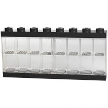LEGO Minifigure Display Monter - 16 Figurer - Svart