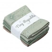 Tiny Republic tøybleie - Green combi