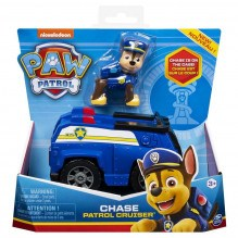 Paw Patrol køretøj inkl. figur - Chase