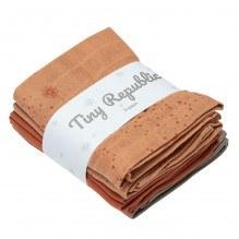 Tiny Republic tøybleie - Rust combi