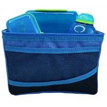 SISTEMALunsjpose kjølepose med tilbehør - Blå / Blå