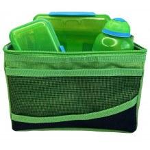 SISTEMALunsjpose kjølepose med tilbehør - Grønn / Grønn