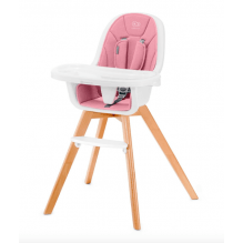 Kinderkraft TIXI matstol 2in1 - pink