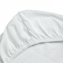 Soft Nordic jersey stretchlag 36x96x5 cm - Hvit