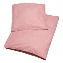 Tiny Republic babysengetøy 70x100, Snow Flake - Rose Tan