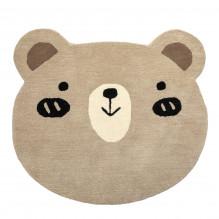 Tiny Republic teddybjørneteppe, Charlie - Brun